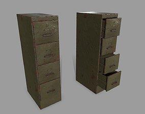 bar Cabinet 3D asset realtime