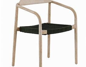 3D asset Nina chair eucalyptus