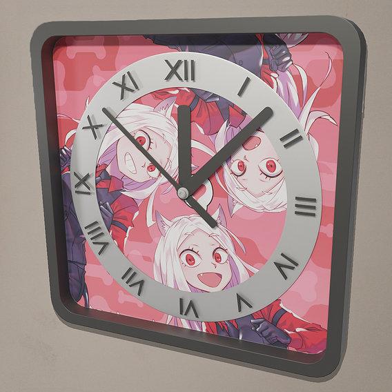 Helltaker wall clock
