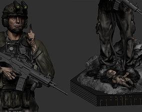 sculpture Cliff Unger - Death Stranding 3D Model
