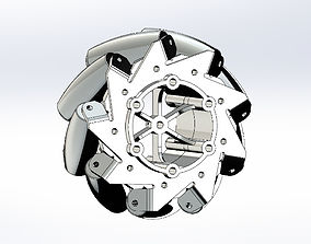 Printable Mecanum Wheel
