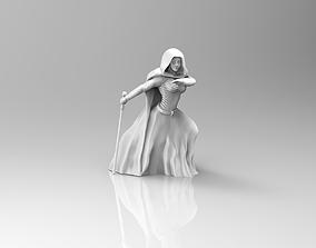 Female Mystical Healer 3D print model