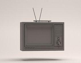 Old Tv old 3D model