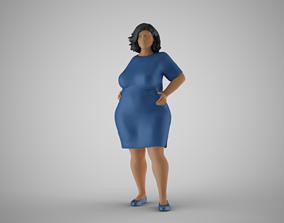 Winter Beauty Woman 3 3D print model