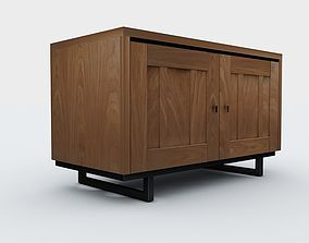 3D model cabinet Commode