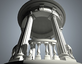 Rotunda 3D model realtime
