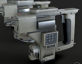 3D model Motion Tracker PBR Specular Mobile LOD Sci-Fi