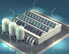 Stilizedcity-recycling center 3D model