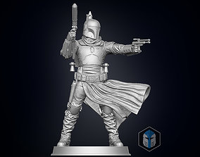 Boba Fett Figurine - Pose 3 3D printable model