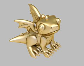 dragon happy jewelry 3D print model