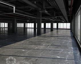 3D model Black Loft Interior 6