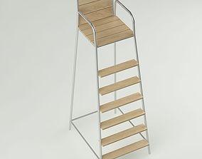 Tennis chair 3D model