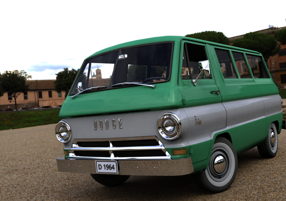 DODGE A100 COMPACT WINDOW 1964