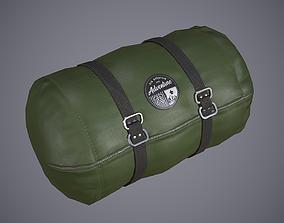 Sleeping Bag 3 3D asset low-poly
