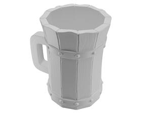 3D print model Beer Stein Mug Of Ale For Tavern