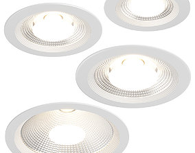 3D 223 Forto Lightstar Recessed spotlight
