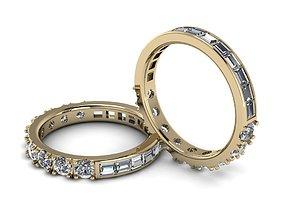Eternity Jewelry Ring 001 3D printable model