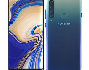 3D model Samsung Galaxy A9 2018