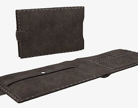 3D Leather wallet