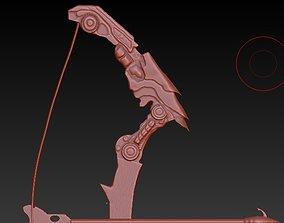 predator yautja bow 3d model