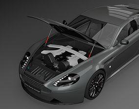 Aston Martin Vantage 2011 3D Model