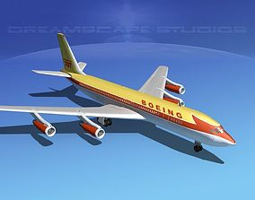 Boeing 707-320 3D