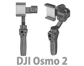 3D model Dji Osmo Mobile 2