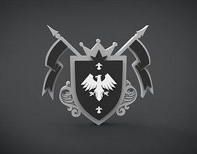 3D asset Eagle Emblem