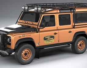 3D model Land Rover Defender Works V8 Trophy 2021