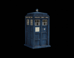 TARDIS from Doctor Who 3D