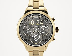 Michael kors Touchscreen Smart Watch 3D asset