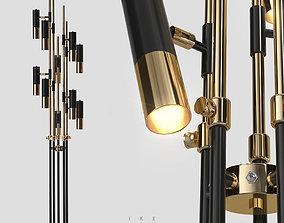 Delightfull IKE floor 10 lamps 3D