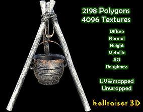 Cooking Pot - Textured 3D model