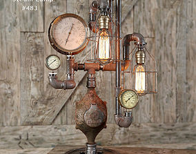 Steam lamp 483 3D model