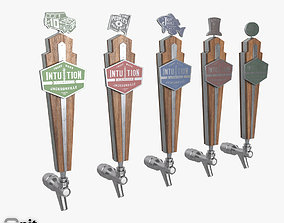 Beer Taps Intuition Ale Works 3D