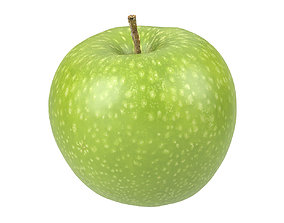 Photorealistic Apple 3D Scan 4