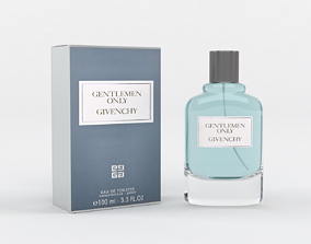 3D model Givenchy Gentlemen Only Eau De Toilette Spray for