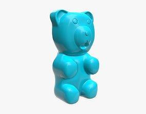 3D model PBR Gummy bear