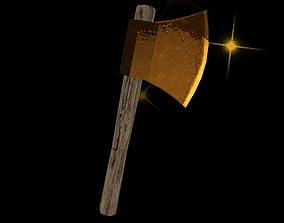 Axe Power Up 3D asset