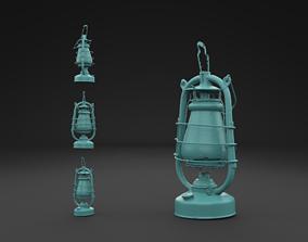 Scanned Old Kerosene Lamp 3D Print Model