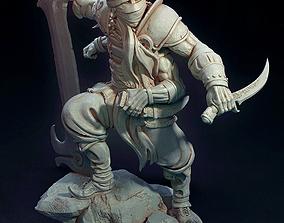 The Fire Warrior Figurine 3D printable model