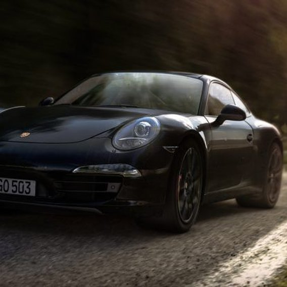 Porsche Carrera S - Black version