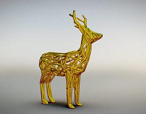 wild 3D print model Wild Deer
