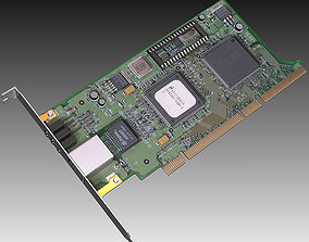 3D PC Network Card