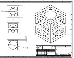 Celtic Penholder 4 3D printable model