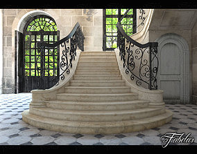Staircase 3D model business