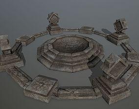 3D asset temple 2