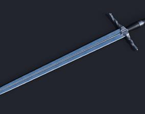 3D Witcher Sword