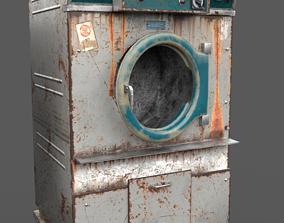Old Dryer Of The Abandoned Hospital 3D asset