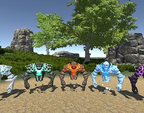 Spirit Elemental Pack 3D asset